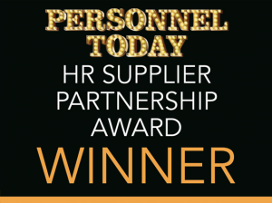 Personnel today HR supplier winner logo