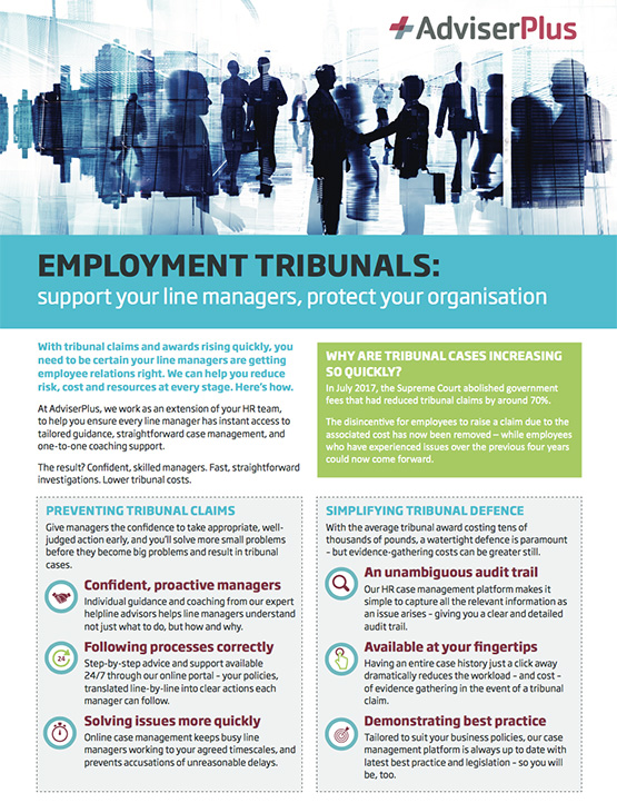 AdviserPlus Employment Tribunals download