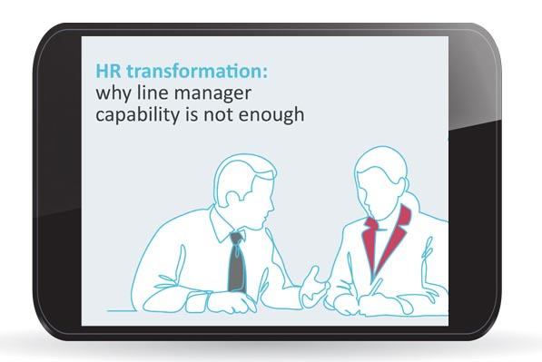 HR Transformation and Manager Capability eBook