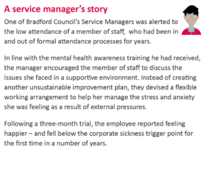 Manager training story