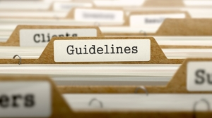 Guidelines folder for workplace policies