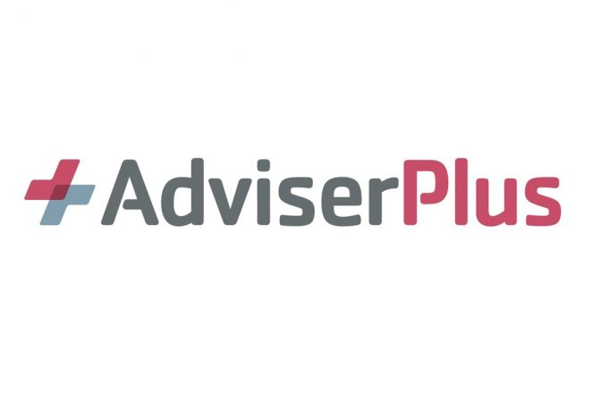 AdviserPlus logo - personalised landing page