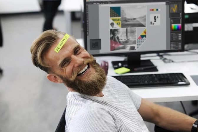 be happy at work